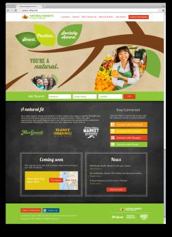 Responsive Careers Website: Home