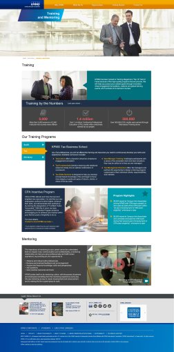 Training & Mentoring Page